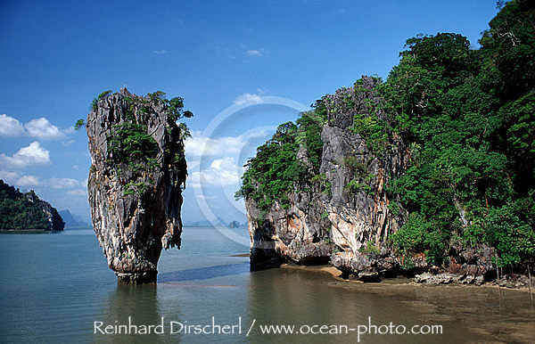 James Bond Felsen, Phangna, Phang-Nga, James Bond Island, Khao Phingan, Thailand