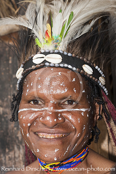 Dani Frau, Baliem Valley, West Papua, Indonesien