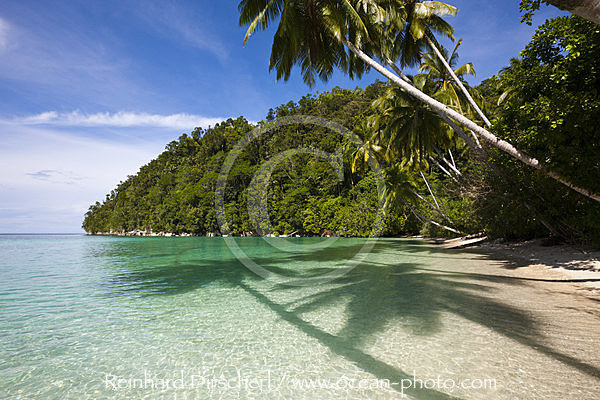 Tropische Insel in der Strait of Iris, n/a, Triton Bay, West Papua, Indonesien