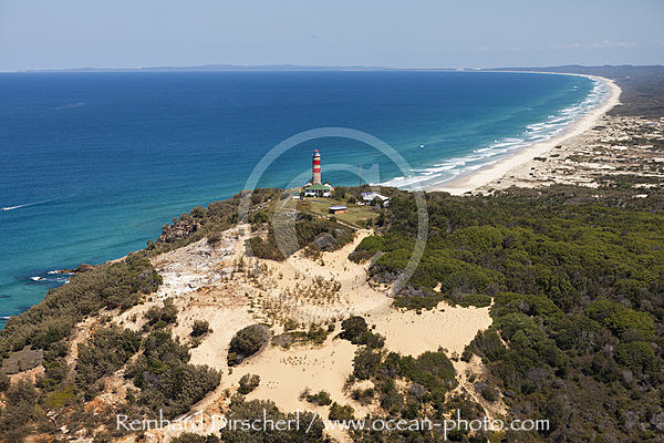Cape Moreton Lighthouse, Moreton Island, Brisbane, Australien
