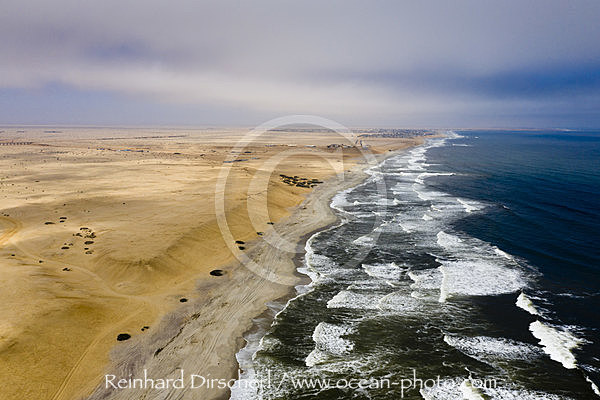 Kueste bei Henties Bay, Henties Bay, Namibia